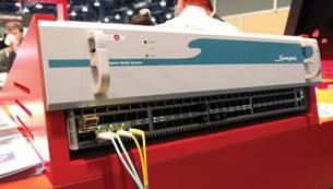 A Axon tinha a única demonstração de vídeo sobre redes AVB da NAB 2014. No entanto a empresa holandesa confirma que todos os componentes numa solução deste tipo só estarão prontos em 2015