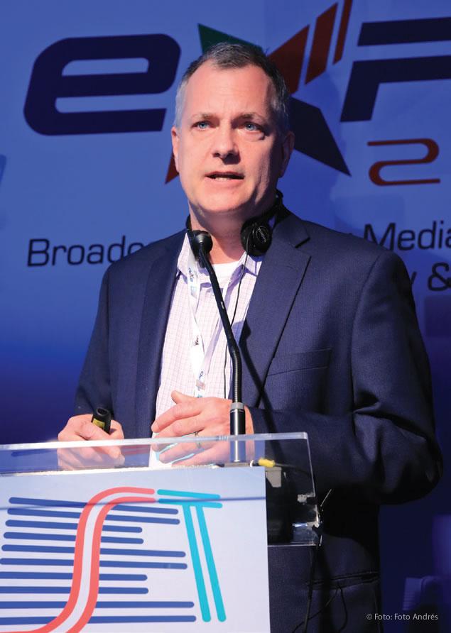Diretor de Marketing Setorial, Mídia e Entretenimento da Akamai Technologies, Shane Keats