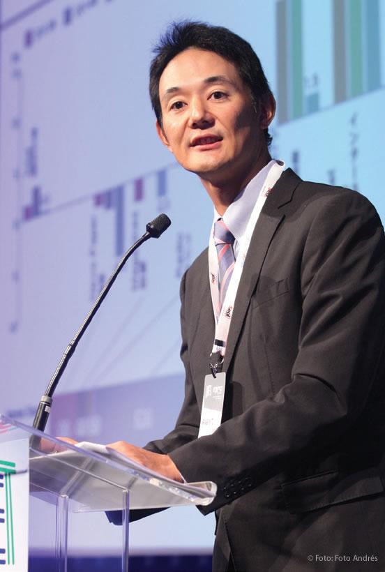 Masayuki Ito, diretor substituto - Divisão de Tecnologia de Transmissão do Ministério do Interior e de Comunicações do Japão