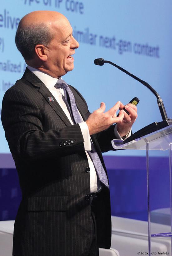 Skip Pizzi, diretor Sênior para Tecnologias de Novas Mídias - Associação Nacional de Emissoras, em Washington, DC, Estados Unidos