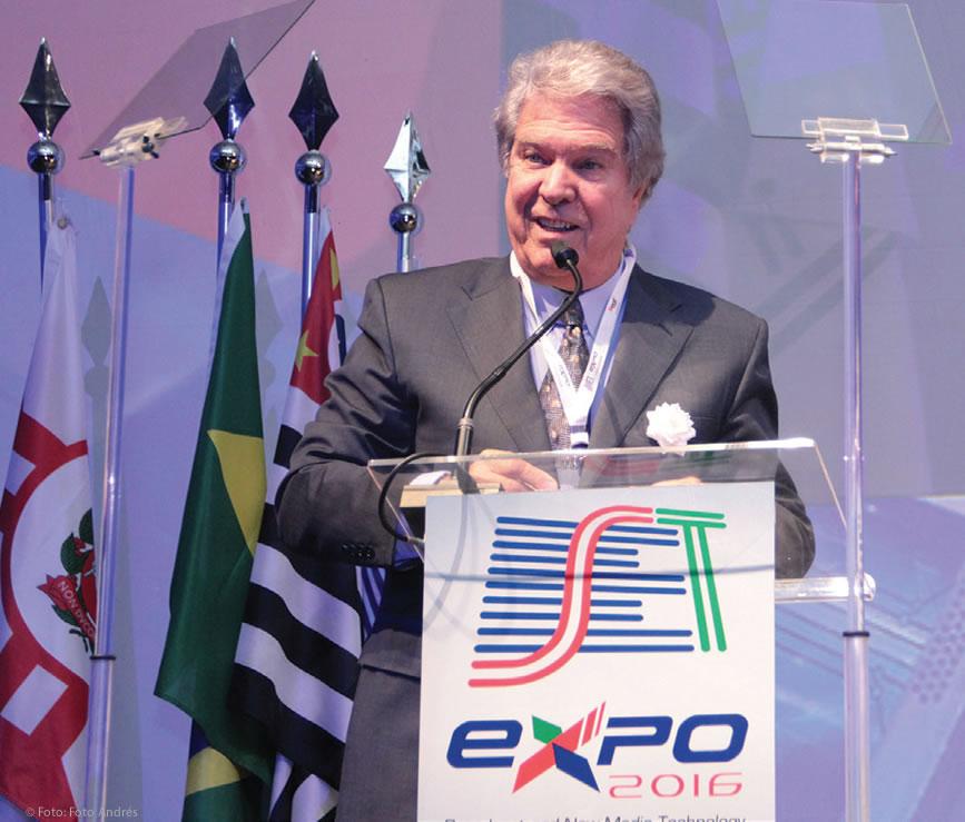 O ex-ministro das comunicações Hélio Costa