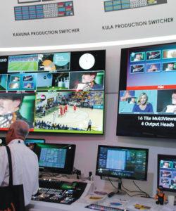 Sam aproveitou o IBC 2016 para lançar as versões 4K do switcher Kahuna e Kula, e um sistema de replay, LiveTouch 4K