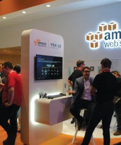 """A Amazon Web Services ganha, a cada ano, mais espaço no IBC: em 2016, destaque para o vídeo na nuvem onde o que importa é a """"experiência audiovisual"""" do espectador"""