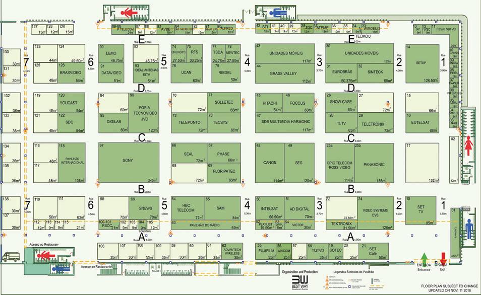 DivulgaçãoAnualmente a SET organiza cinco encontros regionais, o SET EXPO e o Seminário Sete e Trinta, na NAB Show, em Las Vegas