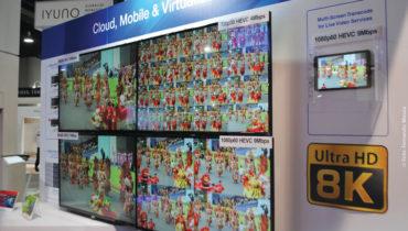 """A Advantech  apresentou soluções de codificação  em """"multi-screen transcode"""" para serviços de entrega de vídeo ao vivo com 1080p60 HEVC 9 Mbps com imagens produzidas  em 8K (Ultra HD 8K) pela emissora pública japonesa, NHK  no Carnaval Rio 2017"""