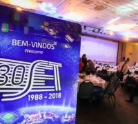 Jantar de comemoração 30 anos da SET