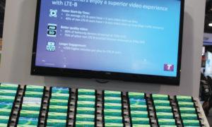 NAB 2019 – Para distribuição audiovisual via broadband por LTE  as soluções foram muitas  e diversas. Na foto, solução da Telstra da Austrália
