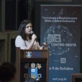 SET Centro-Oeste 2019_Flávia dos Santos Silva, Especialista em Tecnologia na Área de Projetos de Transmissão da TV Globo